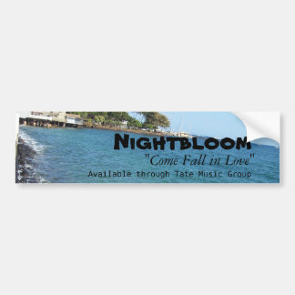 Nightbloom's Come Fall in Love Blue Bumper Sticker