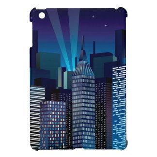 NightCityScape_VectorDTL iPad Mini Cover