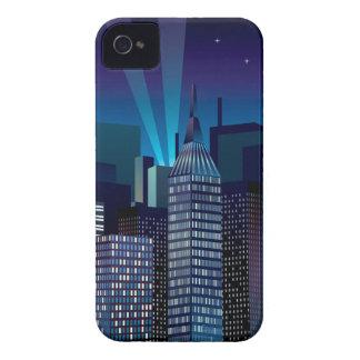 NightCityScape_VectorDTL iPhone 4 Case