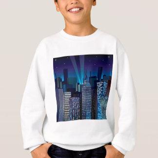 NightCityScape_VectorDTL Sweatshirt