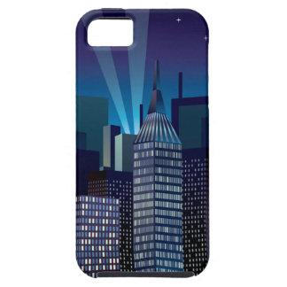 NightCityScape_VectorDTL Tough iPhone 5 Case