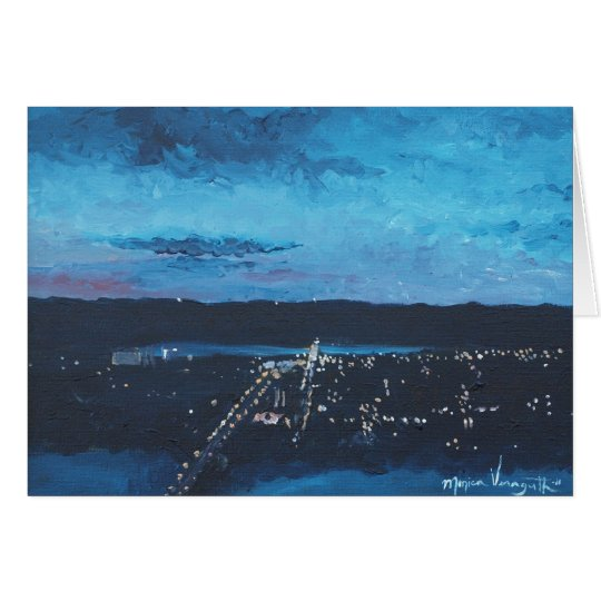 Nightfall at Garvin Greeting Card