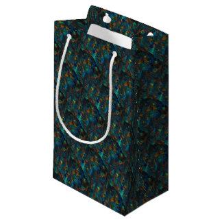 Nightfall on hillside small gift bag