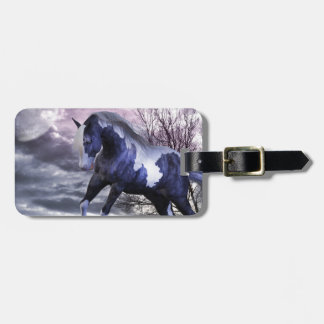 Nightfall Running Free Fantasy Luggage Tag