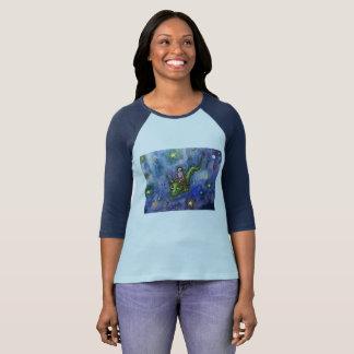 NightFlight Ladies' Raglan T-Shirt