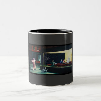 Nighthawks Anteater Two-Tone Coffee Mug
