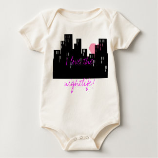 Nightlife Baby Bodysuit