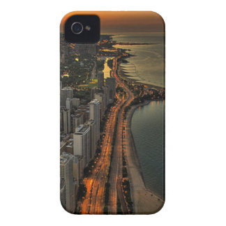 Nightlife by the Beach iPhone 4 Cover