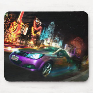 Nightlife mouse mat