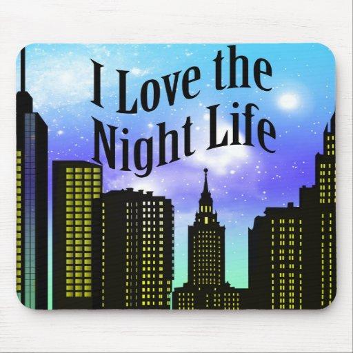 Nightlife Mousepad