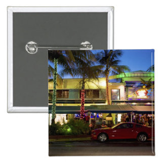 Nightlife on Ocean Drive South Beach Miami Button