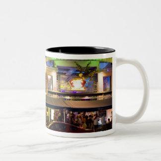 Nightlife on Ocean Drive, South Beach, Miami Coffee Mug