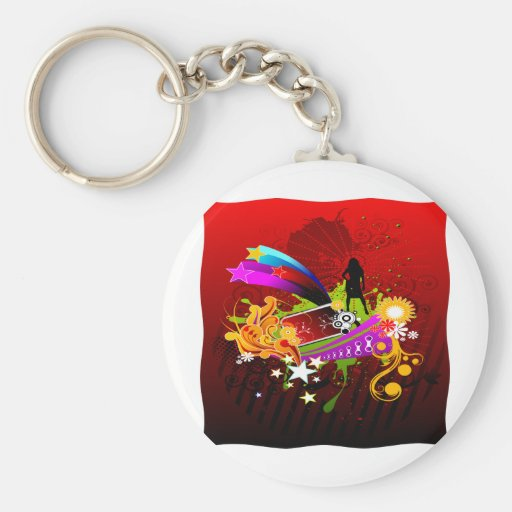 Nightlife Party Time Key Chains