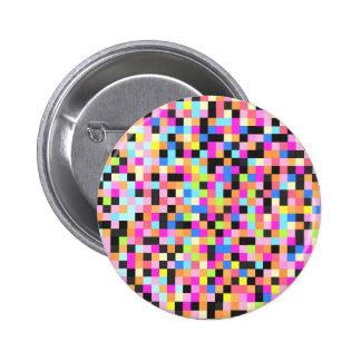 Nightlife pixel funk pinback buttons
