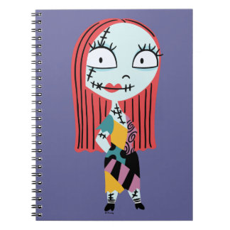 Nightmar Before Christmas | Cute Sally Spiral Notebook
