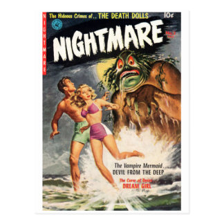 Nightmare #2 postcard