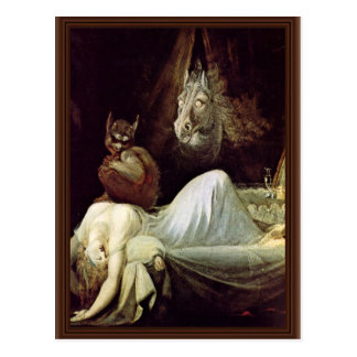 Nightmare By Füssli Johann Heinrich (Best Quality) Postcard