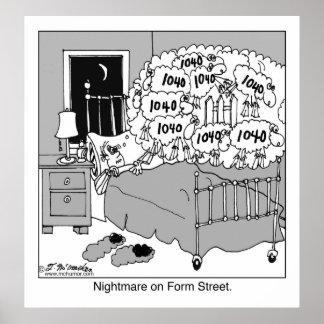 Nightmare on Form Street Poster