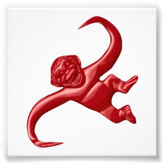 Nightmare Retro Toy Monkey Art Photo