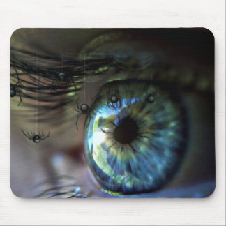 NIGHTMARE VIEW! (eye - spider dream) ~ Mousepad