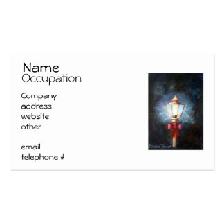 Night's Light Pack Of Standard Business Cards