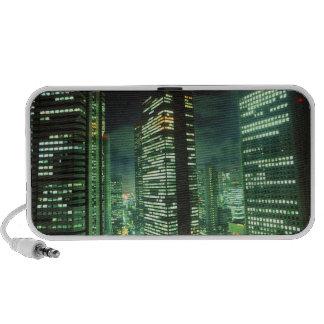 Nightscape, Shinjuku, Tokyo, Japan Portable Speakers