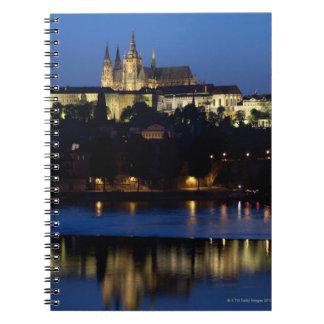 Nighttime in Prague, Czech Republic Notebook