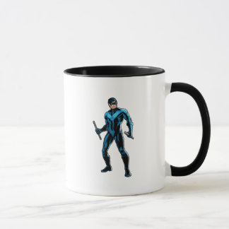 Nightwing Stands Mug