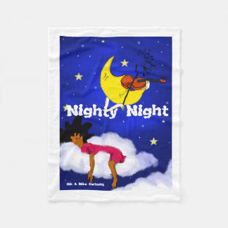 Nighty Night Fleece Blanket