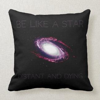 Nihilism: Be like a star Cushion