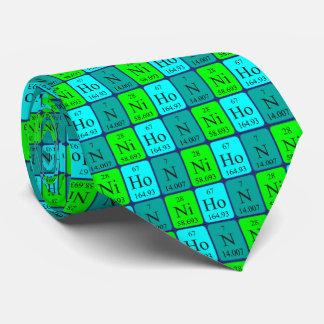 Nihon periodic table patriotic tie 2