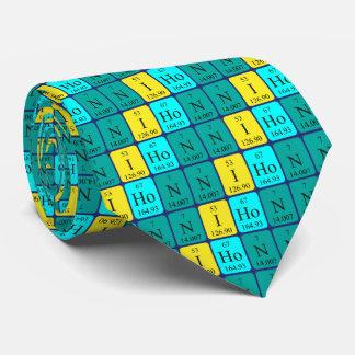 Nihon periodic table patriotic tie 4