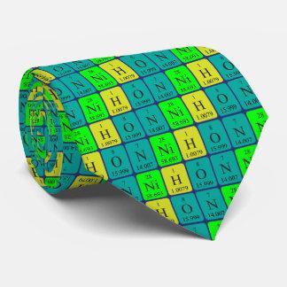 Nihon periodic table patriotic tie 6