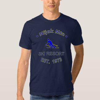Nijak Mountain Ski Resort DARK Shirt