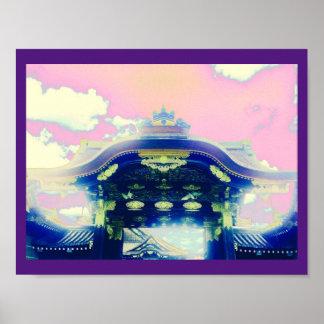 Nijo Castle Kyoto Poster