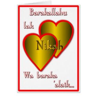 Nikah Card
