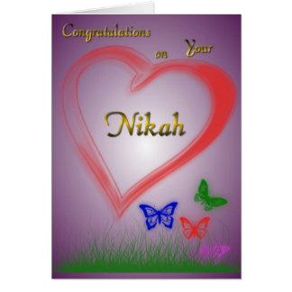 Nikah-Wedding Card