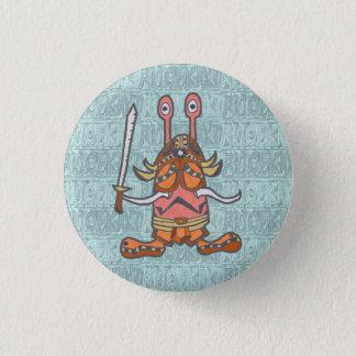 NIKANIKA (holding national heaven ver) 3 Cm Round Badge