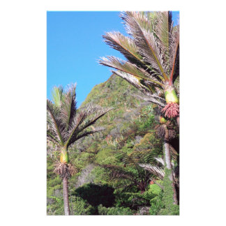 Nikau palms iconic New Zealand trees Customized Stationery