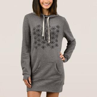 Nike hoodie with flowers