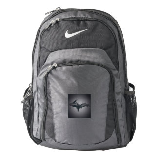 Nike Upper Peninsula Michigan Gray Black Backpack