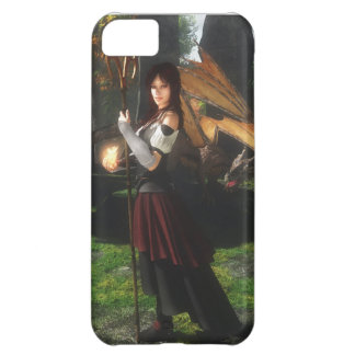 Niki Dragonflame iPhone 5C Covers