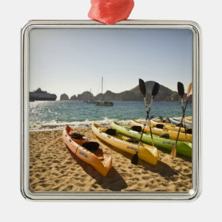Nikki Beach, Me Resort by Melia Cabo, Cabo San Silver-Colored Square Decoration