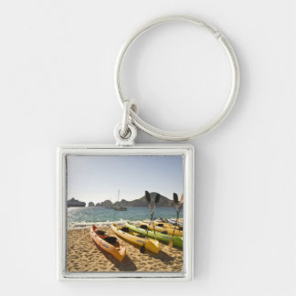 Nikki Beach, Me Resort by Melia Cabo, Cabo San Silver-Colored Square Key Ring