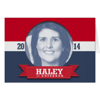 NIKKI HALEY CAMPAIGN GREETING CARDS