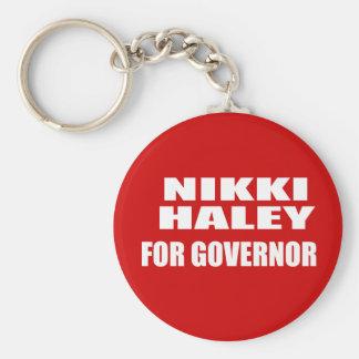 NIKKI HALEY FOR GOVERNOR KEYCHAINS