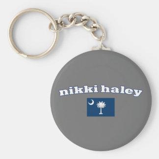 Nikki Haley South Carolina Flag Keychain
