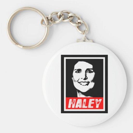 NIKKI HALEY STAMP.png Keychains