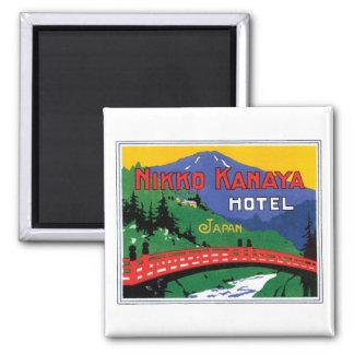 Nikko Kanaya Hotel Japan Square Magnet
