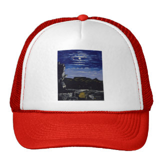 Niko Pirosmani- Arsenalskaya mountain at night Trucker Hat